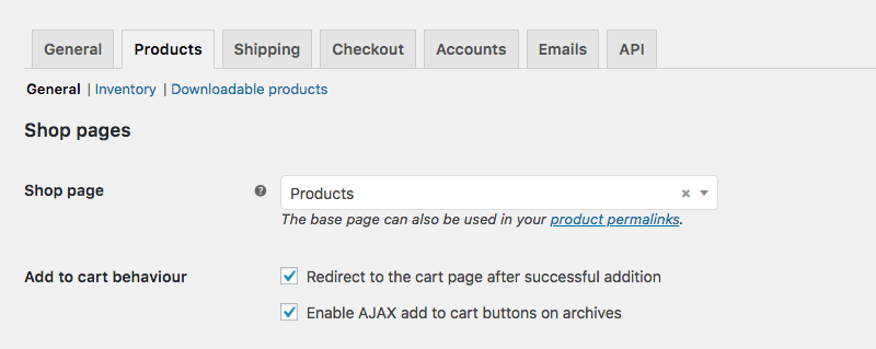 Woocommerce carro Ajax